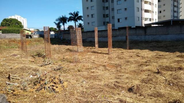 Área com projeto aprovado e fundação pronta para construção de condomínio - Foto 7