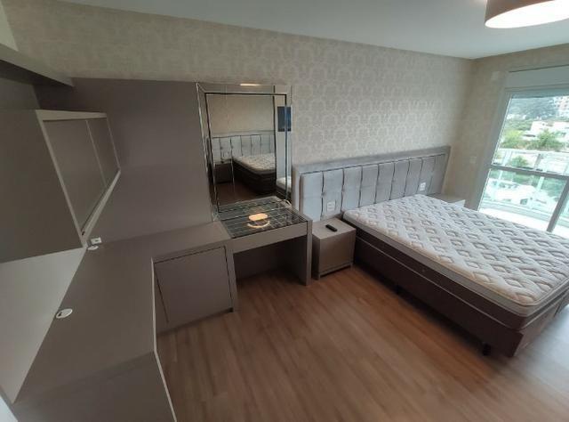 Apartamento Semi Mobiliado no Brava Beach, 4 suites 3 vagas, praia brava Itajai! - Foto 15