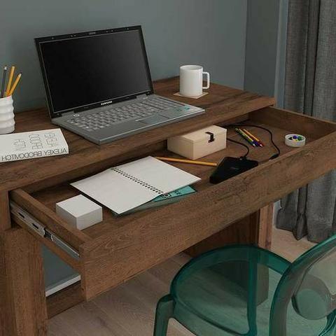 Escrivaninha/ Mesa para Computador com 4 Nichos- Entrega Rápida