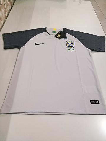 Camisa Brasil Goleiro Cinza 18/19 - Foto 4