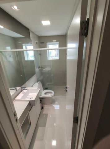 Apartamento Semi Mobiliado no Brava Beach, 4 suites 3 vagas, praia brava Itajai! - Foto 12