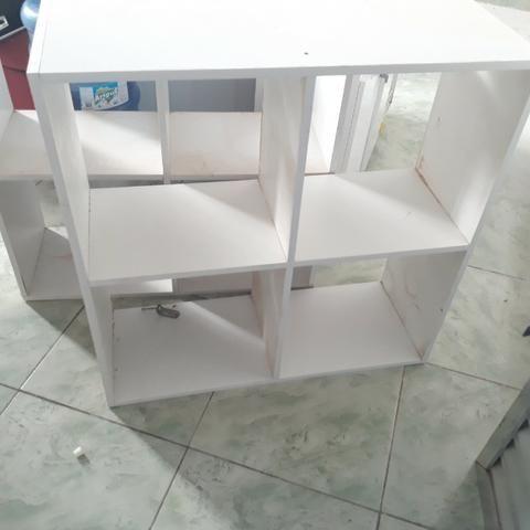 Nicho MDF 100x100 Branco
