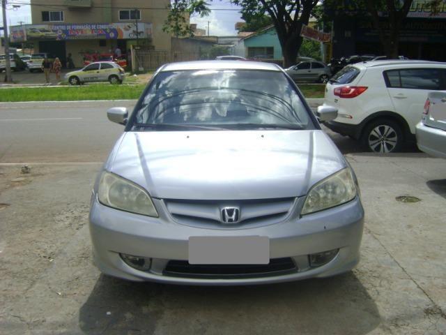 Honda Civic 1.7 Ex Automático 2005/2005 Simone * - Foto 4