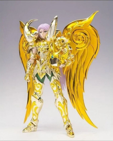 Mu de Áries Cloth Mith Ex Bandai Soul of Gold