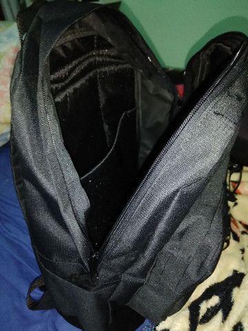 Mochila Preta Escolar Backpack