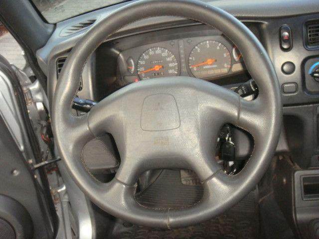 L-200 2.5 Sport HPE 4x4 Cabine Dupla Turbo Automatica - 2006 - Diesel - Prata - Foto 10