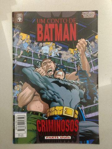 Batman - Um conto de Batman - Criminosos 2 ediçoes - Foto 3