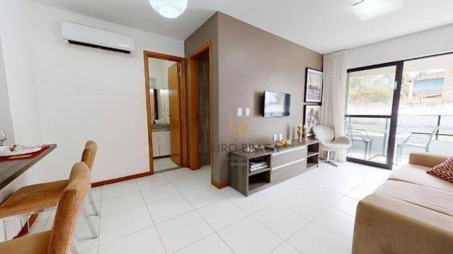 Residencial Riacho Doce Beach Residence Apartamento residencial à venda, Jacarecica, Macei