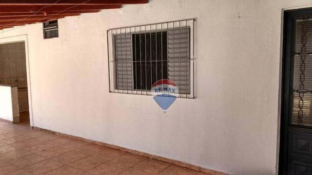 Casa 02 dormitórios e/ou salão comercial, locação, R$ 900,00 cada, Cosmópolis, SP - Foto 14