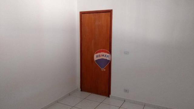 Casa 02 dormitórios e/ou salão comercial, locação, R$ 900,00 cada, Cosmópolis, SP - Foto 7