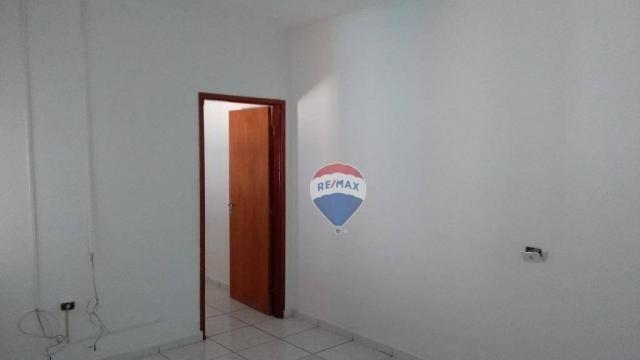 Casa 02 dormitórios e/ou salão comercial, locação, R$ 900,00 cada, Cosmópolis, SP - Foto 4