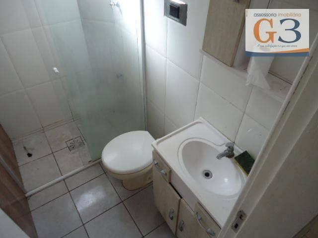 Apartamento com 1 dormitório para alugar, 38 m² por R$ 500,00/mês - Areal - Pelotas/RS - Foto 9