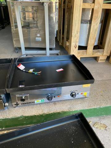 Chapas elétrica / gás - para restaurantes, Hambúrgueria -A gás a partir de r$ 1.630,00 - Foto 2