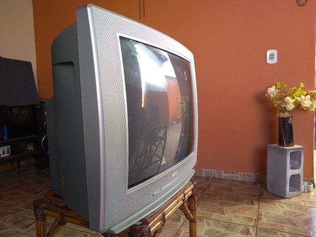 Tv com controle