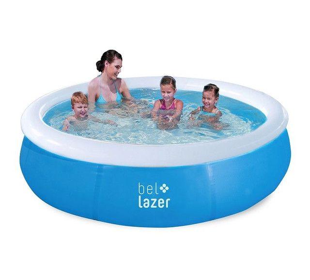 Piscina inflável redonda 1.000 litros  - Foto 2