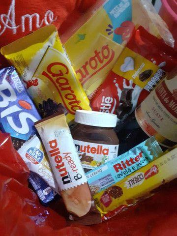 Cesta de chocolates  - Foto 3