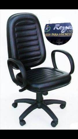 Cadeiras giratórias para escritório novas - Foto 3
