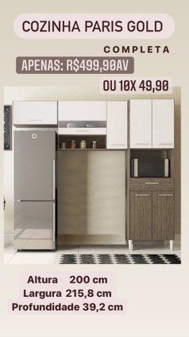 Vendo Armário de cozinha Novo - Foto 3