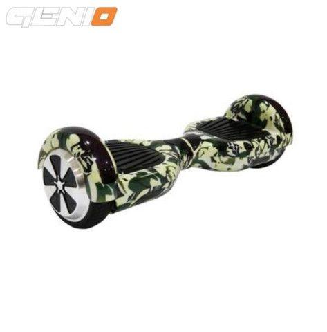 """Scooter ElétricoGenio- Bluetooth - Com controle e bolsa - 6.5"""" - Camuflado"""