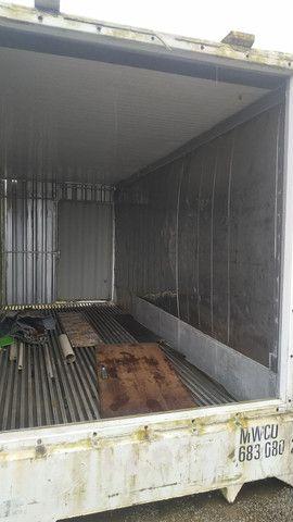 Piso canaleta do alumínio container reefer frigorifico - Foto 2
