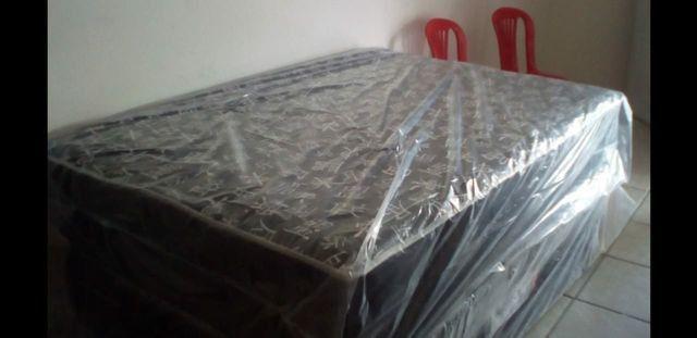 Vendo Cama Box Casal #250 Reais - Foto 3