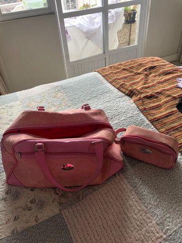 Mala de viagem Barbie original + necessarrie - Foto 2