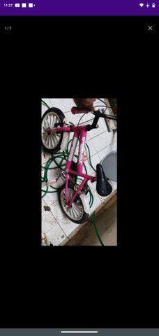 vendo bicicleta para criança conservada