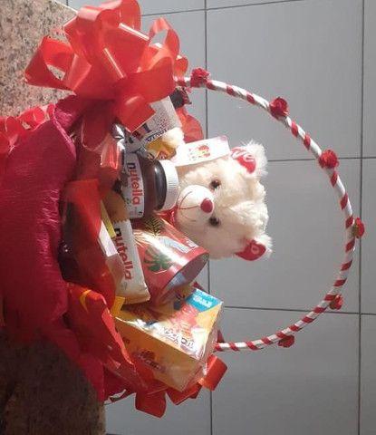 Cesta de chocolates  - Foto 2