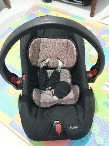 Conjunto Carrinho de bebê + bebê conforto - Foto 4