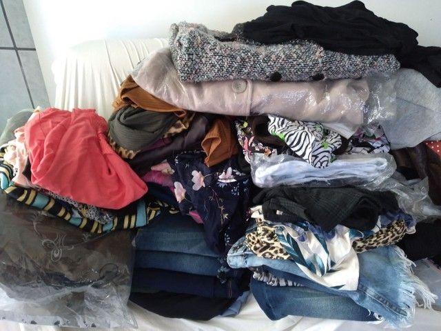Lindo estoque de roupas femininas: 189 peças