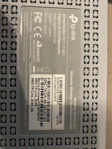 Roteador tp-link AC1200 semi novo - Foto 3