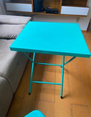 Mesa com cadeira de aço - Foto 5