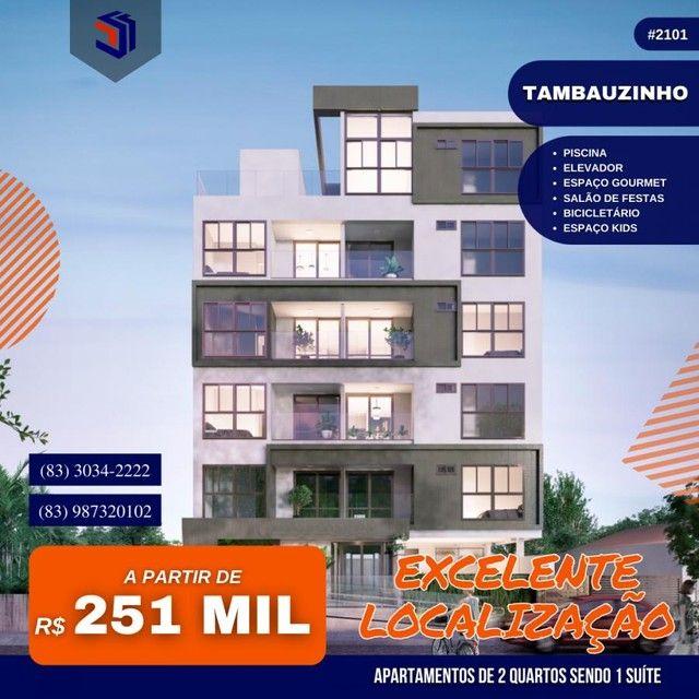 Apartamento para Venda em João Pessoa, Tambauzinho, 2 dormitórios, 1 suíte, 2 banheiros, 1