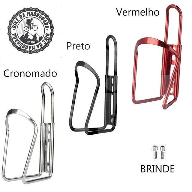 Promoção Suporte para garrafa/caramanhola em alumínio para bicicleta bike ciclismo