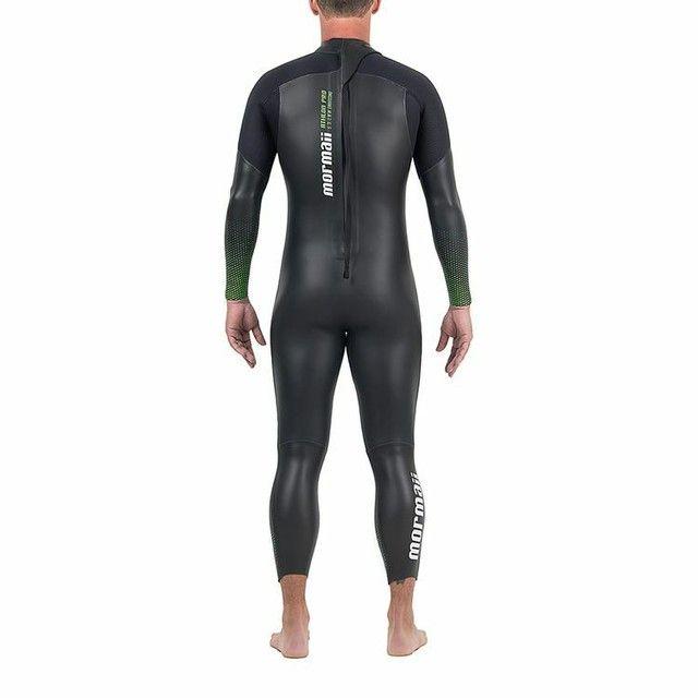Long John Manga Longa Backzip 5.3mm Triathlon 5a Águas Abertas Mormaii<br><br> - Foto 3