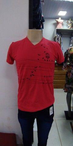 Camisetas masculinas a 20,00 reais - Foto 4