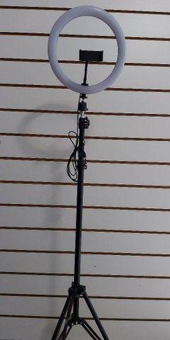 Ring light com tripé 2,10 metros