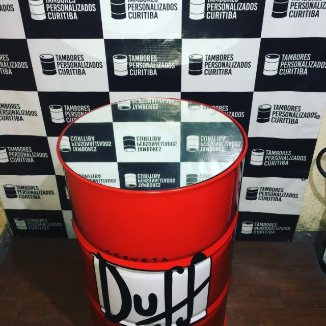 Tambor Personalizado Duff com espelho!! - Foto 3