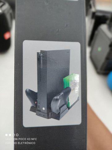 Multi função cooler carregador Xbox one - Foto 3