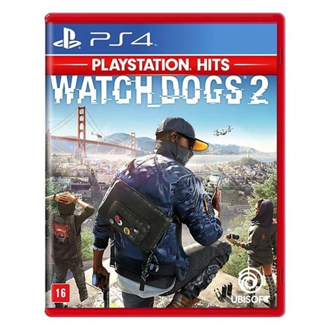Watch Dogs 2 Ps4 Hits - Mídia Física Usado