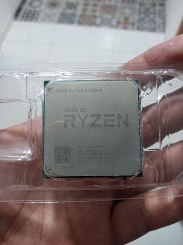 Vendo Ryzen 3 2200g 3.5GHZ Vídeo Integrado - Foto 4