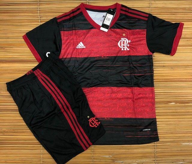 Camisa ou conjunto do Flamengo - Foto 2