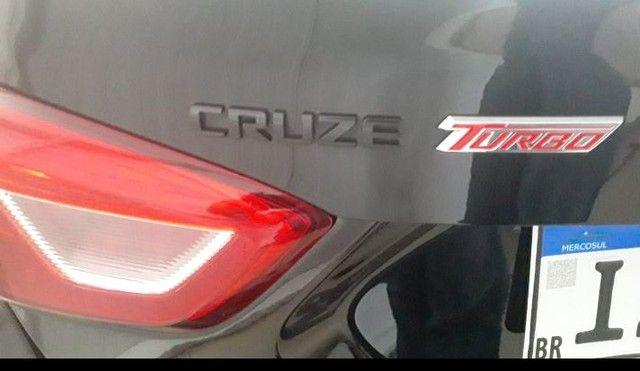 Cruze Black Bow Tie LT Turbo 2019 - Único Dono  - Foto 3