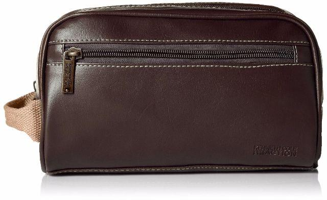 Necessaire Masculina Kenneth Cole Vertical Marrom