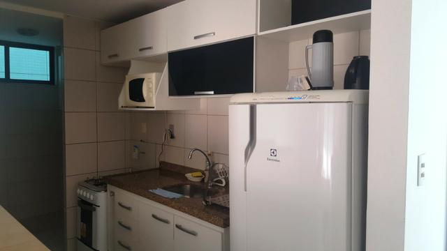 Na Beira do Cabo Branco com 2 quartos todo projetado e mobiliado - Foto 4