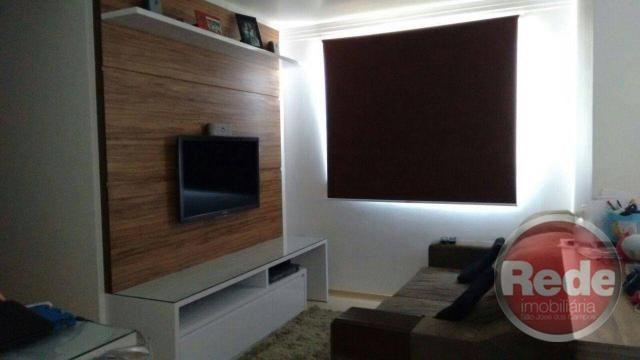 Apartamento com 2 dormitórios à venda, 49 m² por r$ 173.000 - vila tesouro - são josé dos