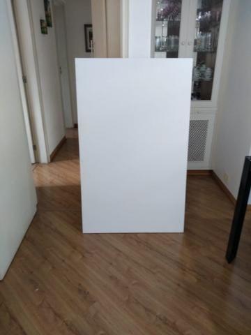 Mesa branca 1,30x0,80
