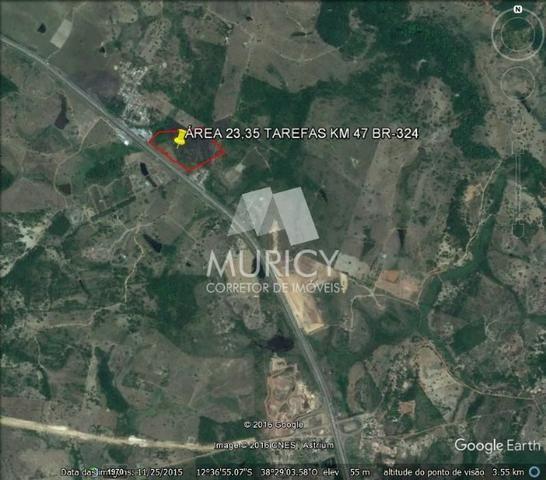 Grande oportunidade, área às margens da BR-324, município de Candeias-BA - Foto 12