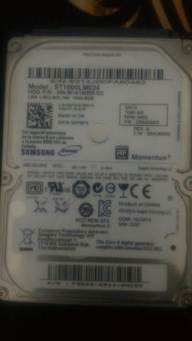 HD 1 TB notebook - Foto 2