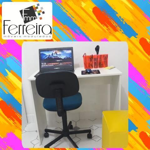 27. Promoção Mesa Escrivaninha 90cm - Entrega Grátis toda Manaus :)